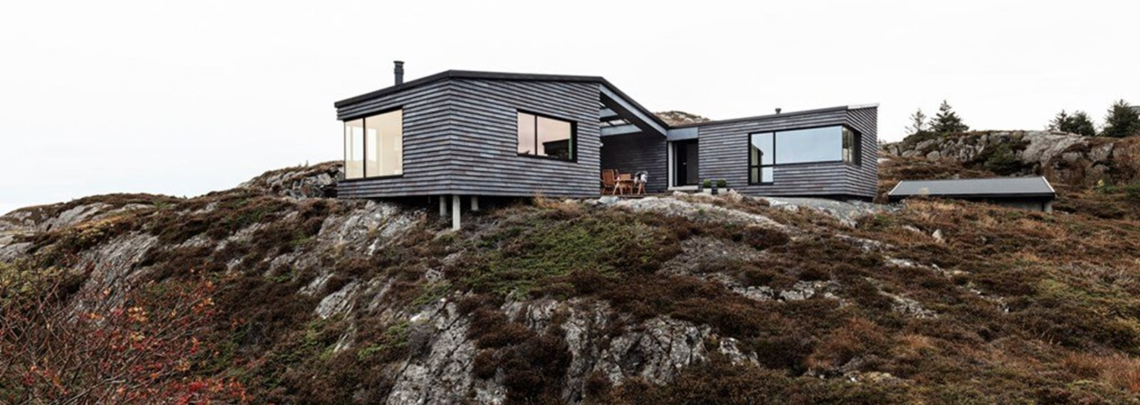 cabin on sandøya, norway