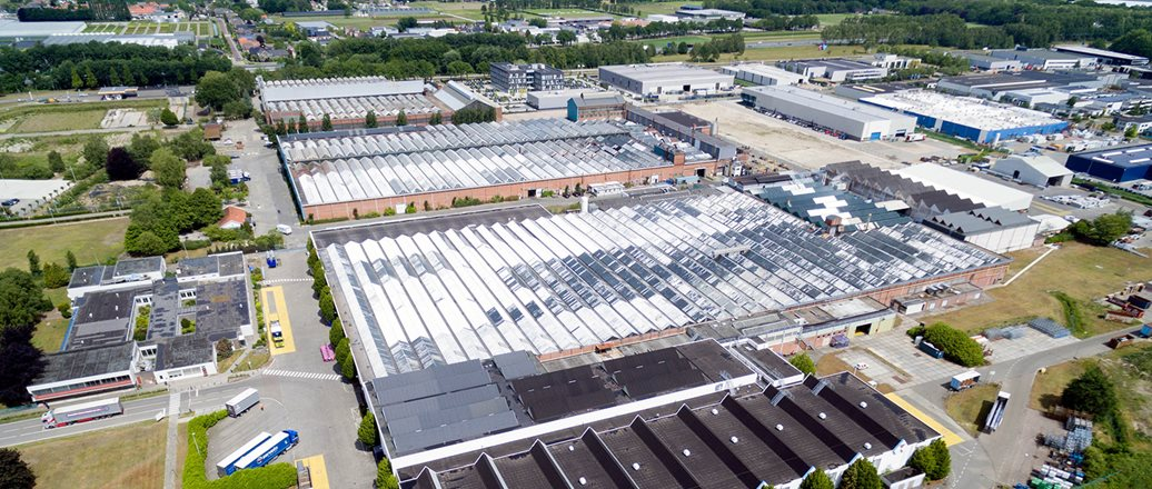 Hydro's Extrusion plant in Drunen, Netherlands
