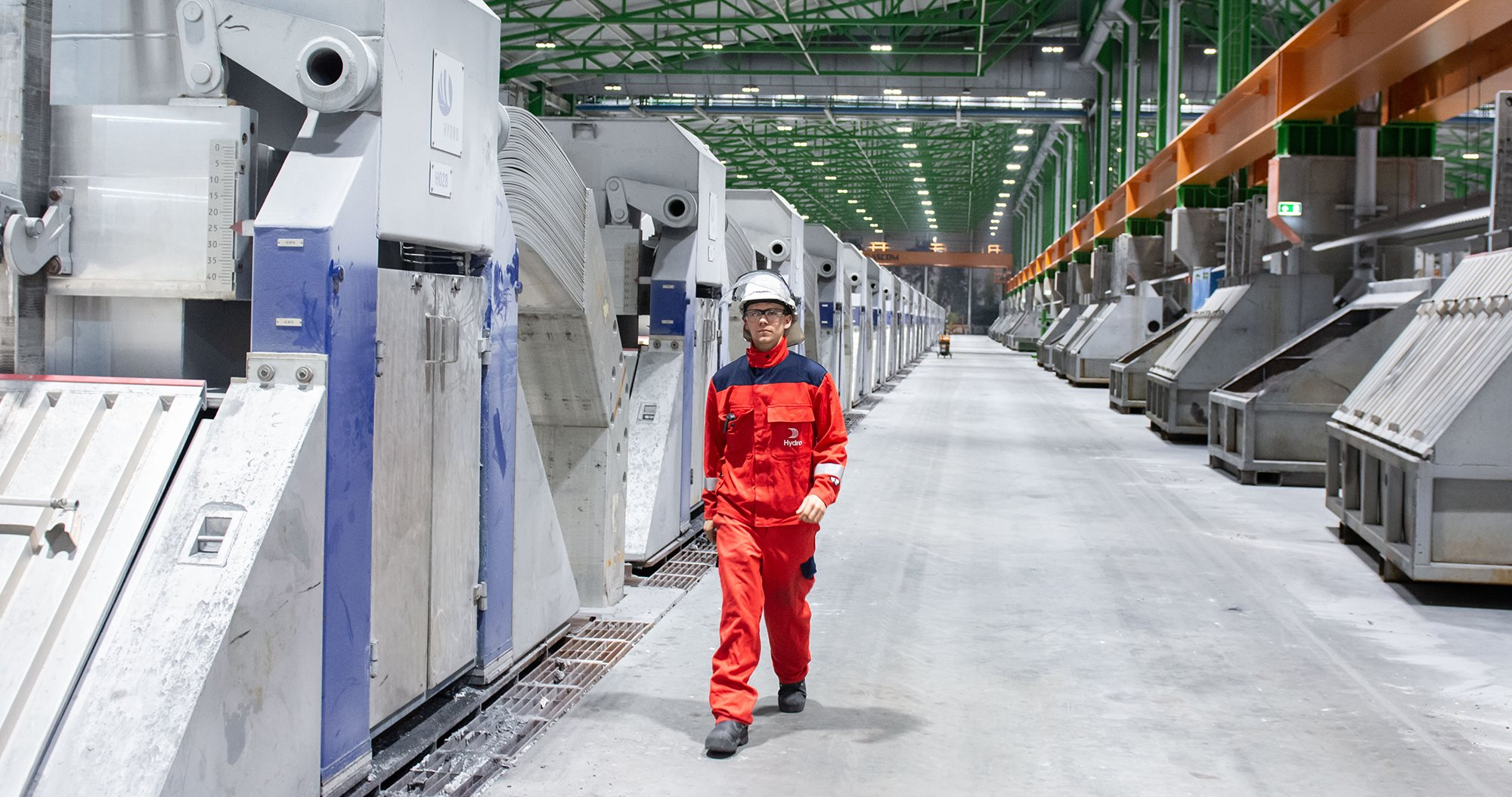Hydro's advanced Karmøy Technology Pilot aluminium plant