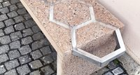 The world's first aluminum-reinforced concrete bench
