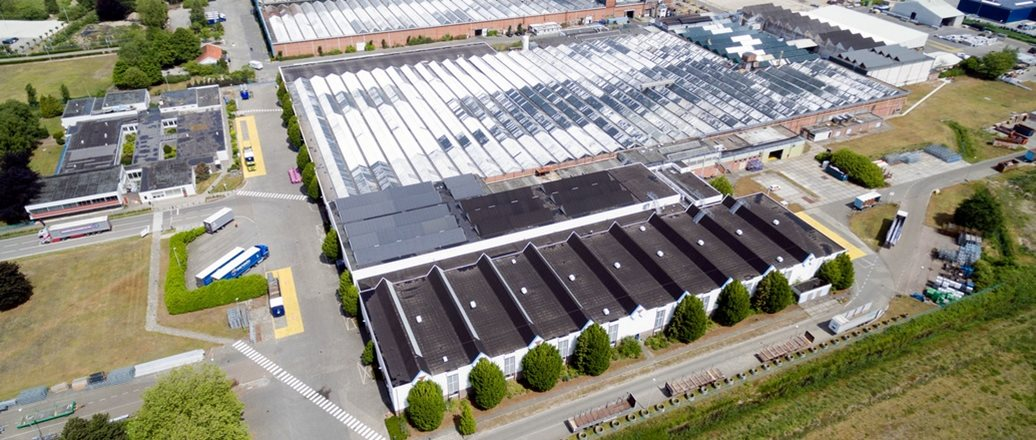 Production plant of Hydro Extrusion Drunen, part of Extruded Solutions in Benelux