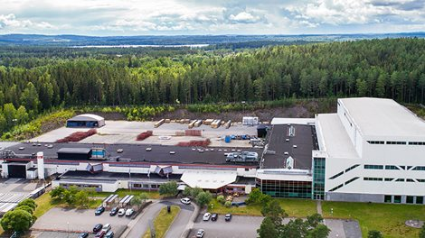 The Brogårdfactory in Vetlanda