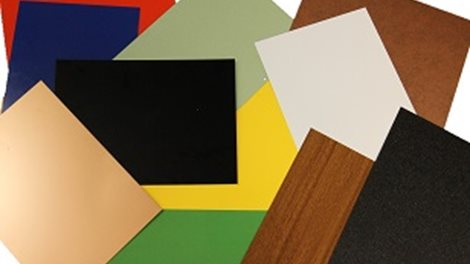 Many more colors and textures than these are possible with Hydro´s painted aluminium sheet
