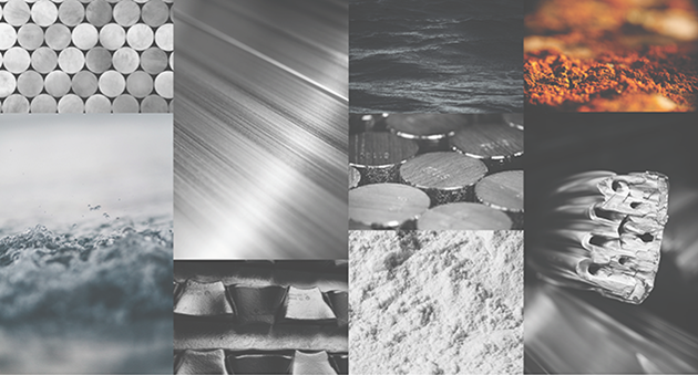 aluminium in the shape of bars, ingots, extruded profiles, rolled sheets, alumina and bauxite