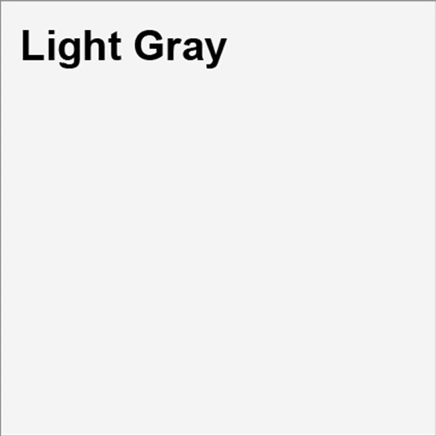 light gray square marked