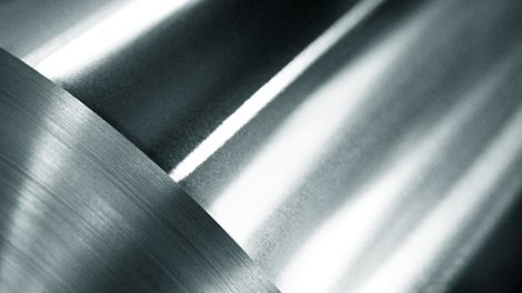 large aluminium roll