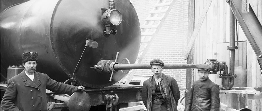 Steam locomotive from 1912