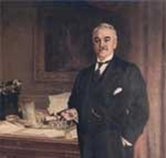 Painting of Sam Eyde