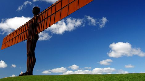 England's North East Angel of the North Gateshead