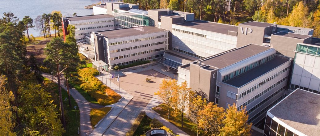 Aerial view of Hydro vækerø head offices