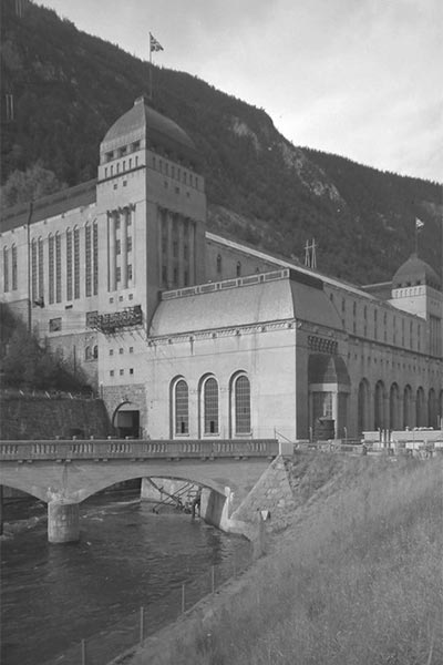 Såheim power plant at Rjukan