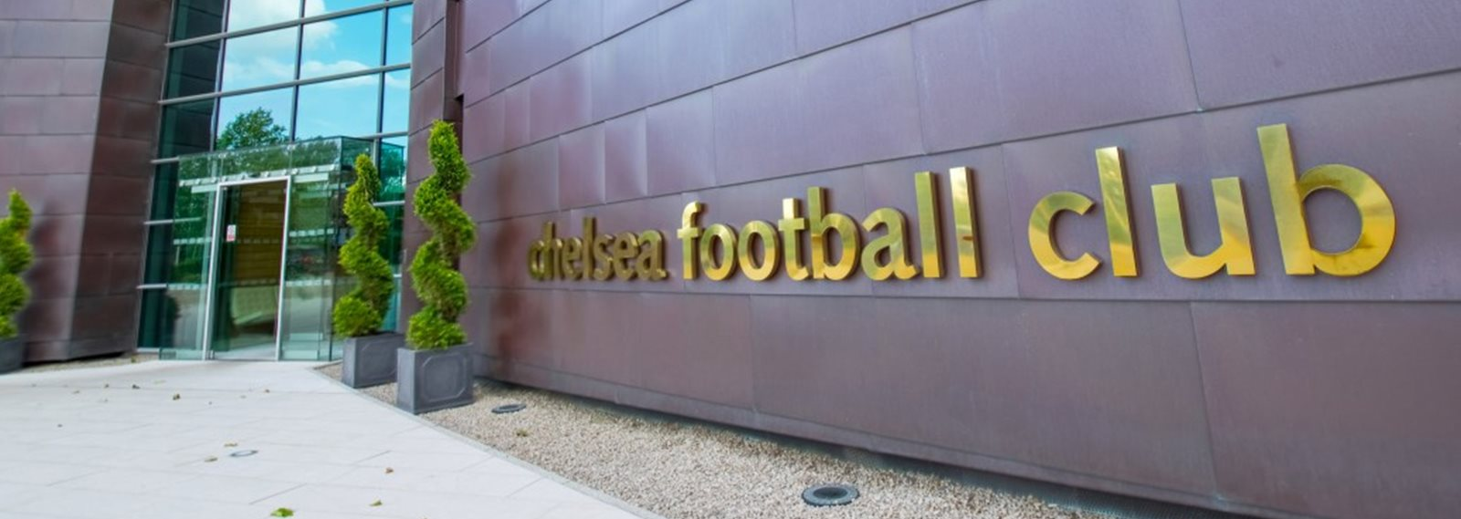 exterior of chelse fc headquarters